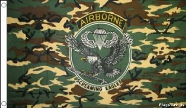 Camo Airborne Screaming Eagles